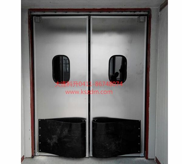 双向不锈钢自由门